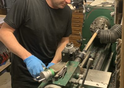 Working in the Shop