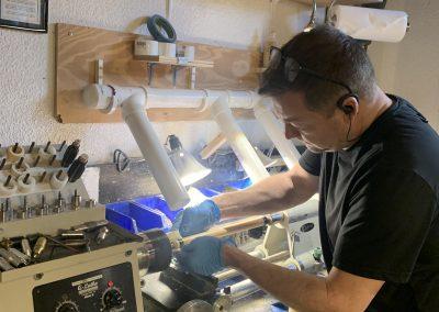 Working on Porper Lathe